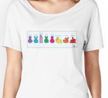 GeoBunnies Lineup Women's Relaxed Fit T-Shirt