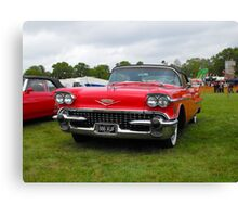1958 Cadillac Convertible Canvas Print
