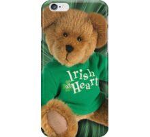 IRISH AT HEART....SAINT PATRICKS DAY TEDDY BEAR PICTURE iPhone Case/Skin