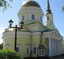 Ortodox Temple in Izhevsk Russia by aleksdat