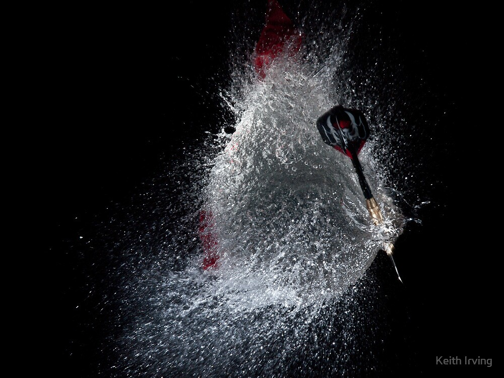 Dart vs Water Balloon by Keith Irving