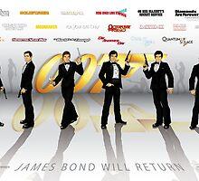 007 James Bond by CosmicThunder