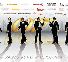007 James Bond by CosmicThunder
