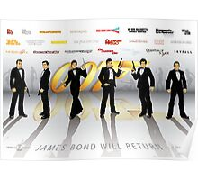 007 James Bond Poster