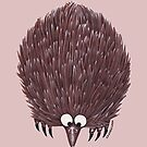 Echidna Pink by Lou Van Loon