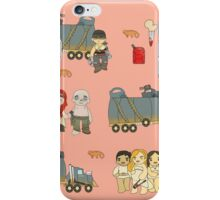 Across the Wasteland (in Peach) iPhone Case/Skin
