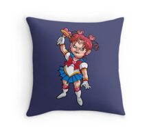 CHIBI CHUCKY MOON Throw Pillow