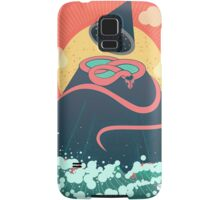 Snake On Crystal Mountain Samsung Galaxy Case/Skin