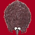 Echidna Red by Lou Van Loon