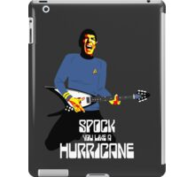 Spock You (White Font) iPad Case/Skin