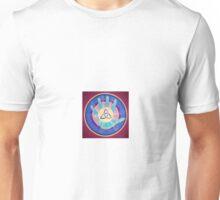 Triquetra hand print Unisex T-Shirt