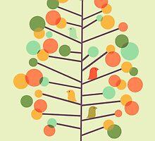 Happy Tree - tweet tweet by Choma House
