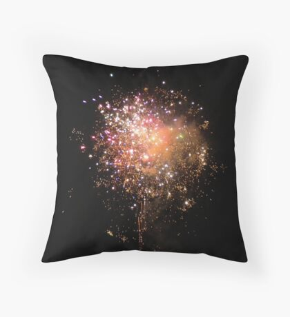 Fireworks Celebration Part Deux Throw Pillow