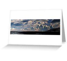 Mustra Coast - Antartic Summer Greeting Card