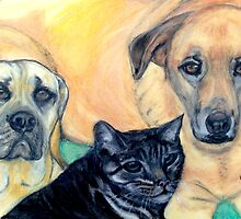 Our Favourite Pets by Mariaan Maritz Krog Fine Art Portfolio