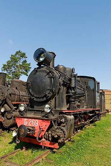 Steam locomotive by igorsin