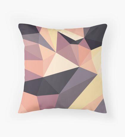 Shard – Dusk Throw Pillow