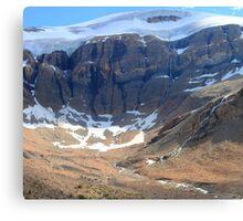 Glacier creeks Canvas Print