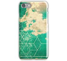Nature and Geometry - The Clouds 2 iPhone Case/Skin