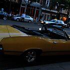 sleek Yellow Ride II by Jeff Stroud