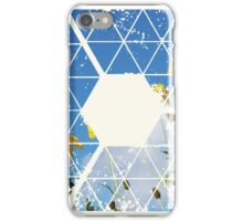 Nature and Geometry - Yellow Flowers iPhone Case/Skin