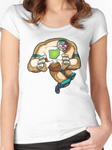 Ohio Lucha Libre Women's Fitted Scoop T-Shirt