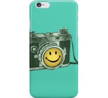 Smiley camera iPhone Case/Skin