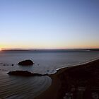 mount maunganui sunrise by rachelwalker