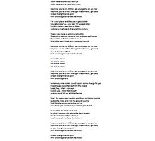 All Star - Lyrics Photographic Print