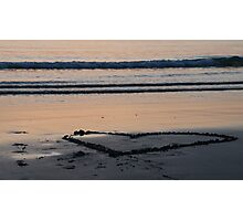 I Love you Heart Photographic Print