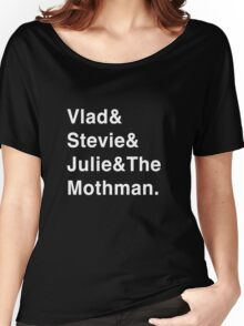 The Mothman (White) Women's Relaxed Fit T-Shirt
