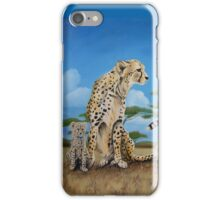 Cheetah Family iPhone Case/Skin