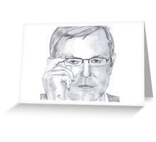 Tribute to Mr.Kevin Rudd Greeting Card