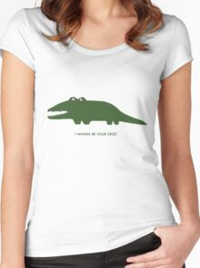 Iggy Croc Women's Fitted Scoop T-Shirt
