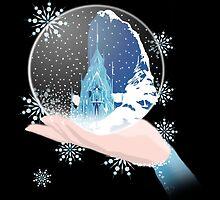 Elsa's Snow Globe by jetfire852