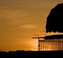 Summertime Sunset,Sassuolo,Italy by Davide Ferrari