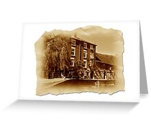 The Old Mill Parchment Greeting Card