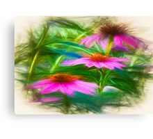 Painting Flower`s Canvas Print