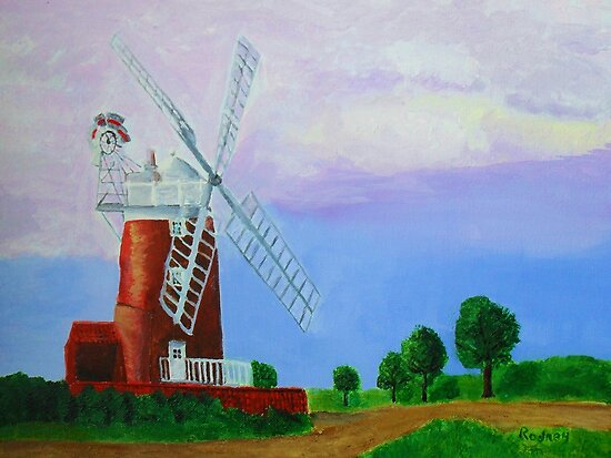 Cley Mill by Rodney Campbell