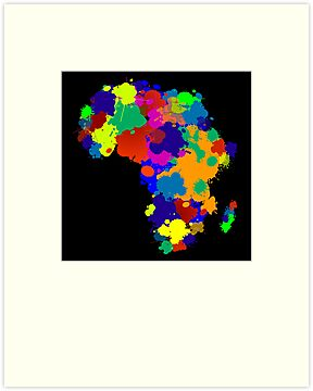Africa by Richard Laschon
