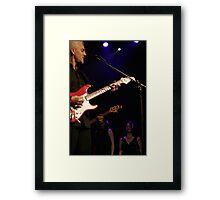 james howard - LIVE! Framed Print