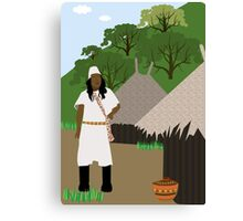 Indian tribe Kogi of Colombia  Canvas Print