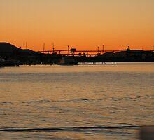 harbour sunset 1 by tara kim  andrews
