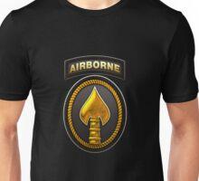 U.S. Special Operations Command - USSOCOM Patch 3D on Black Velvet Unisex T-Shirt