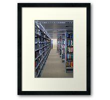 Riyad Nassar Library Framed Print