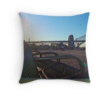 Circular Quay II Throw Pillow