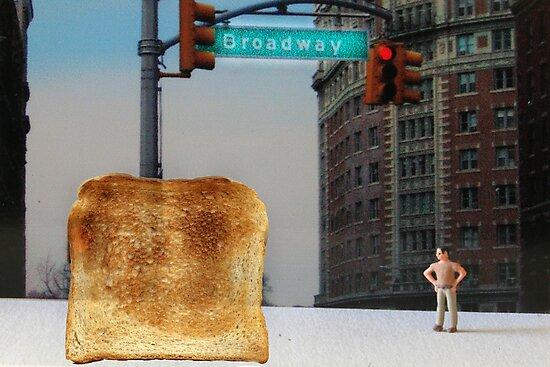 Kevin finally locates the Toast of Broadway; it wasn't exactly what he expected. by Susan Littlefield