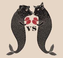 Dogfish versus Catfish by SusanSanford
