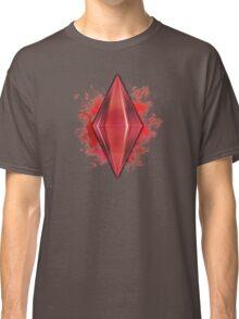 Red Plumbbob Grunge Classic T-Shirt