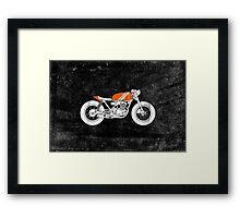 Café Racer – Reverse Framed Print
